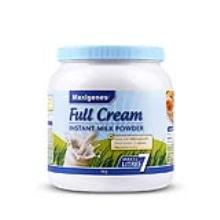 澳大利亚Maxigenes美可卓 全脂高钙奶粉 1kg【2罐起发】(保税仓发货)