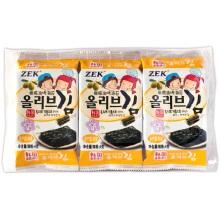 ZEK 橄榄油烤海苔(4g*3)*6袋