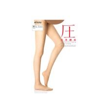 日本厚木ATSUGI压系列FP6892春夏用分段压力丝袜连裤袜 433#裸米色M-L 1双装(保税仓发货)
