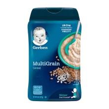 美国Gerber嘉宝2段混合谷物米粉(6个月以上)227g【2罐起发】(保税仓发货)