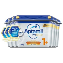 德國 Aptamil愛他美 白金版幼兒配方奶粉1+段 800g(新包裝)(保稅倉發貨)(6件裝)