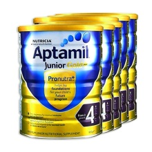 澳洲 爱他美Aptamil 金装婴儿配方奶粉4段 900g(保税仓发货)(6件装)