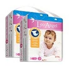 LEO ANGEL(狮子座天使)婴儿纸尿裤S70*2包3.19—3.25活动期间赠送迪卡龙双肩包
