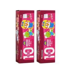 韩国Pororo宝露露小企鹅草莓味10婴幼儿牙膏 80g【2支起发】(保税仓发货)