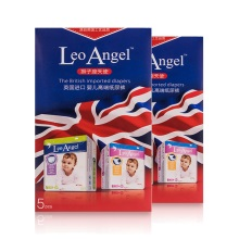 LEO ANGEL(狮子座天使)婴儿纸尿裤XL号5片装*2盒