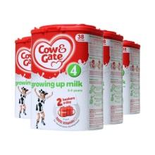 英国Cow&Gate牛栏婴儿奶粉4段(2-3周岁宝宝)800g(保税仓发货)(4件装)