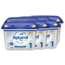 德國Aptamil愛他美白金版1段嬰幼兒奶粉 800g(保稅倉發貨)(6件裝)