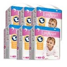 LEO ANGEL(狮子座天使)婴儿纸尿裤XL48*6包3.19—3.25活动期间赠送迪卡侬背包1个+儿童无比滴1盒