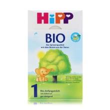 德国Hipp Bio喜宝 有机奶粉 1段(3-6个月宝宝)600g(保税仓发货)(2 件起购)