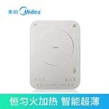 美的(Midea)C21-QH2135电磁炉家用日本进口面板智能超薄触屏