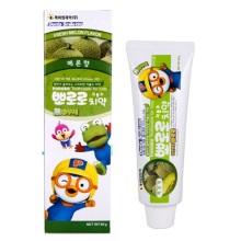 韩国Pororo宝露露小企鹅哈密瓜味儿童牙膏 90g【2件起发】(保税仓发货)
