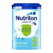 荷兰 牛栏Nutrilon 5段 800g (新包装) (2件装)(保税仓发货)