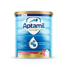澳洲原裝 Aptamil愛他美 嬰兒奶粉 4段 900g(保稅倉發貨)(6件裝)