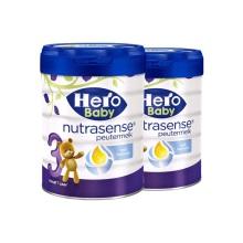 荷兰原装进口婴幼儿奶粉  美素Hero Baby  白金版 3段 700g(保税仓发货)(2件装)疫情期间,湖北、重庆市九龙坡区和新疆暂不能发货