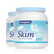 澳大利亚Maxigenes美可卓脱脂高钙奶粉 1kg(保税仓发货)(2件起购)