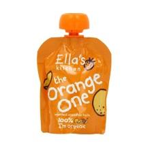 英国Ella's Kitchen艾拉厨房橙色(苹果+芒果+香蕉+椰子)混合果泥 90g【2包起发】(保税仓发货)