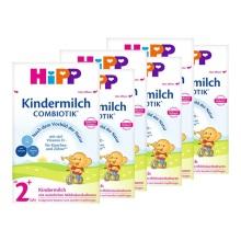 德國Hipp BIO喜寶 益生菌奶粉 2+段 2035(2周歲以上寶寶)600g(4件裝)(保稅倉發貨)