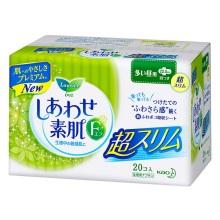 日本花王乐而雅F系列棉柔卫生巾22.5cm*20片(保税仓发货)