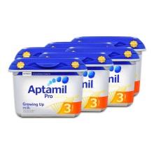 英国爱他美Aptamil白金版婴幼儿奶粉3段800g(保税仓发货)(6件装)
