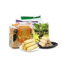 北田 史纳克N卷(蛋黄)+香脆谷物卷系列(蛋黄+海苔+芋头)