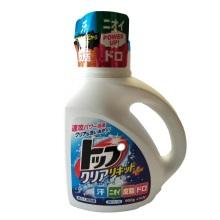 日本进口LION狮王TOP强效洁净洗衣液900g强效除菌