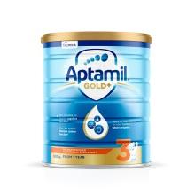 澳洲原裝 Aptamil愛他美 嬰兒奶粉 3段 900g(保稅倉發貨)(2件裝)