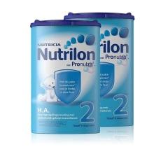 荷兰Nutrilon HA免敏半水解奶粉2段(6个月以上) 750g(保税仓发货)(2件装)