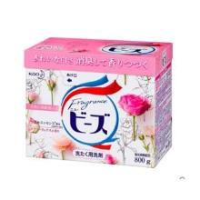 日本进口花王KAO玫瑰花香氛洗衣粉含柔顺剂800g*2盒