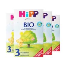 德國Hipp Bio喜寶 有機奶粉 3段(10-12個月寶寶)800g(4件裝)(保稅倉發貨)