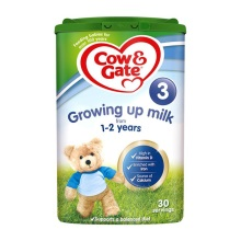 英国Cow&Gate牛栏婴儿奶粉3段(1-2周岁宝宝)900g(保税仓发货)(6件装)