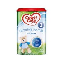 英国 牛栏 Cow&Gate 3段 800g(4件装)(保税仓发货)