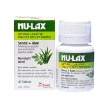 澳大利亚Nu-lax 乐康膏 果蔬润肠健康养护40片(保税仓发货)