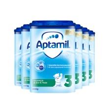 德國 Aptamil愛他美 較大嬰兒配方奶粉易樂罐3段(10-12月齡) 800g(保稅倉發貨)(6件裝)