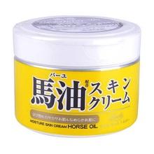 日本Loshi祛痘印补水保湿马油面霜 220g(保税仓发货)