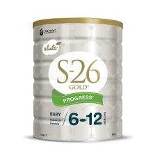 新西兰S26惠氏金装新生婴儿牛奶粉2段(新包装) 900【2罐起发】(保税仓发货)