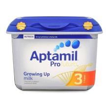 英国爱他美Aptamil白金版婴幼儿奶粉3段800g【2罐起发】(保税仓发货)