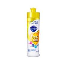 日本进口Kao 花王 清洁除油果蔬餐具护手洗洁精240ml*2瓶 柠檬香
