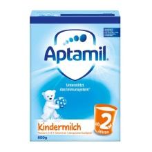 德国Aptamil爱他美 奶粉 2+段(24个月以上宝宝) 600g(6件装)(保税仓发货)