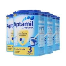 英国Aptamil爱他美婴儿奶粉3段(1-2周岁宝宝)900g(保税仓发货)(4件起购)