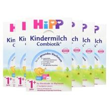 德國Hipp BIO喜寶 益生菌奶粉 1+段(1周歲以上寶寶)600g(6件裝)(保稅倉發貨)
