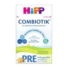 德国Hipp BIO喜宝 益生菌新生儿奶粉 Pre段(0-3个月宝宝)600g(保税仓发货)(2 件起购)