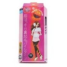 日本TRAIN女人的欲望 发热压力平腰薄绒连裤袜 200D 黑色 M-L(保税仓发货)