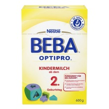 德国Nestlé雀巢BEBA贝巴成长奶粉2+段(2岁以上)600g(保税仓发货)