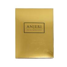 泰国ANJERI蚕丝面膜10片金色保湿补水面膜收缩毛孔