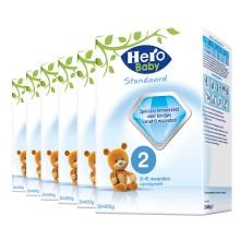 荷兰原装  美素Hero Baby  婴儿配方奶粉 2段 800g(保税仓发货)(6件装)