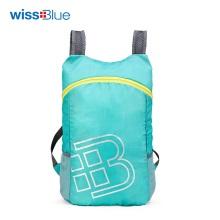 维仕蓝倾风轻量折叠背包WB1181(果绿/深蓝)