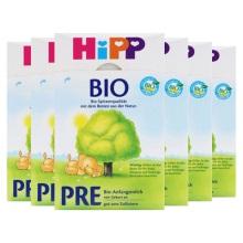 德国Hipp Bio喜宝有机新生儿奶粉Pre段(0-3个月宝宝)600g(保税仓发货)(6件装)