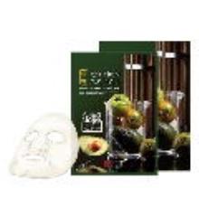 韩国SNP 弹性活力发酵面膜25ml*10片 牛油果精华 提拉紧致 抗皱 增加弹性(2件起购)