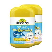 澳大利亚Nature's Way佳思敏 儿童维生素D+钙 60粒【2瓶起发】(保税仓发货)