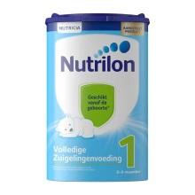 荷兰Nutrilon牛栏奶粉1段(0-6个月宝宝) 850g(保税仓发货)(4件装)